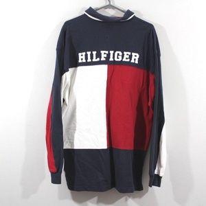 Vintage 90s Tommy Hilfiger Mens Xl Polo Shirt